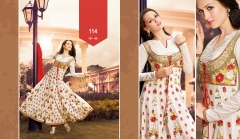 Vedik Anarkali cotton suits 114